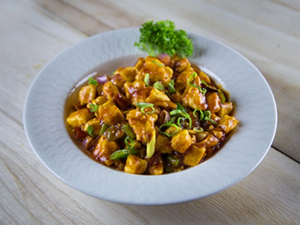 Tsing Hoi Chicken with Cashew Nuts