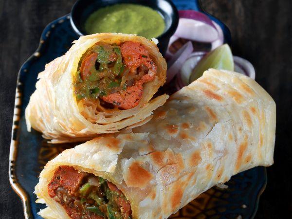 Mutton Seekh Roll