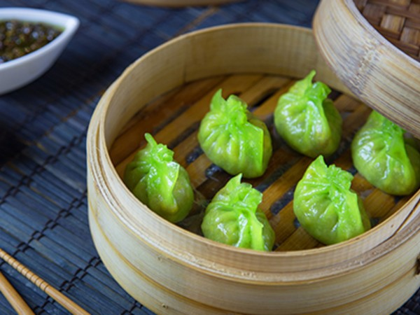 Corn and Waterchestnut Dumplings