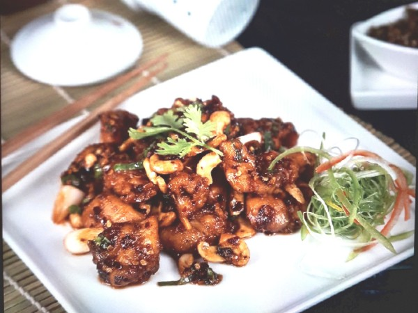 Chicken Szechuan Pepper with Cashew Nuts