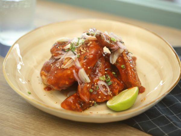 Spicy BBQ Wings