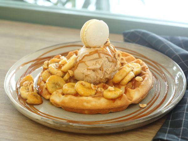 Waffle Banoffee