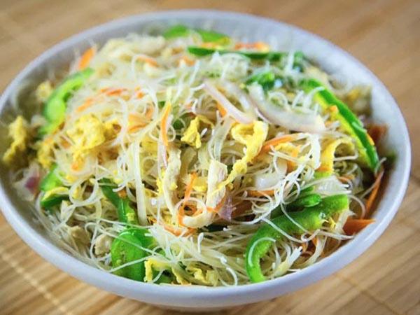 Cantonese Rice Noodles - Veg