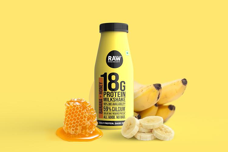 Raw Pressery-Honey Banana Milk Shake (200ml)