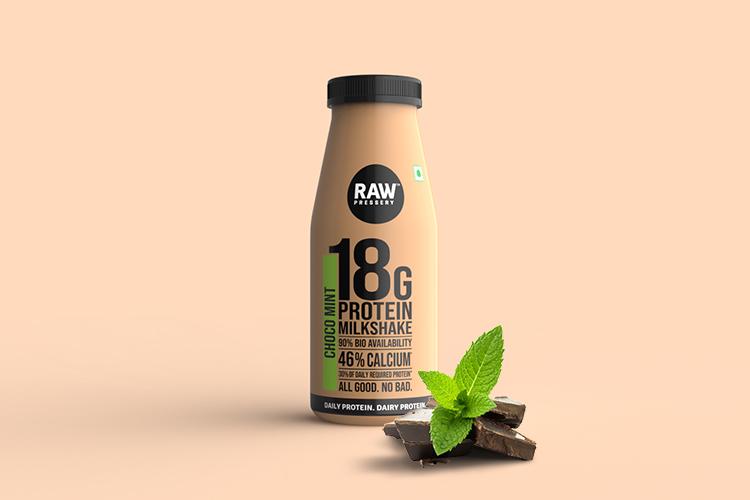 Raw Pressery-Choco Mint Milk Shake (200ml)