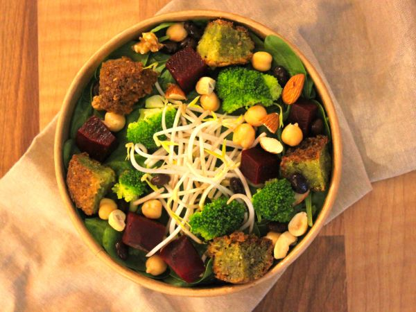 Mighty Falafel Bowl