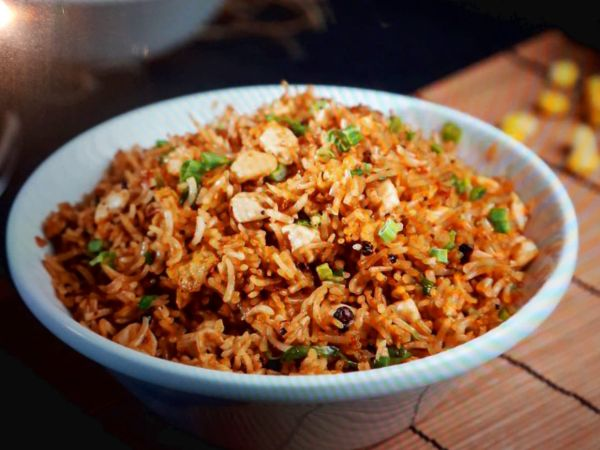Black Pepper Fried Rice Chicken