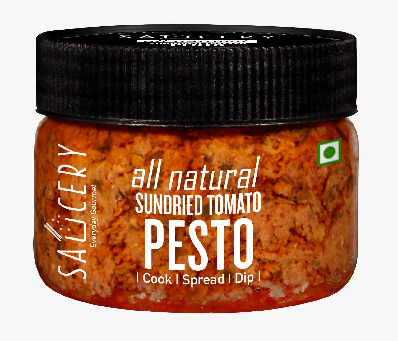 Saucery-Sundried Tomato Pesto