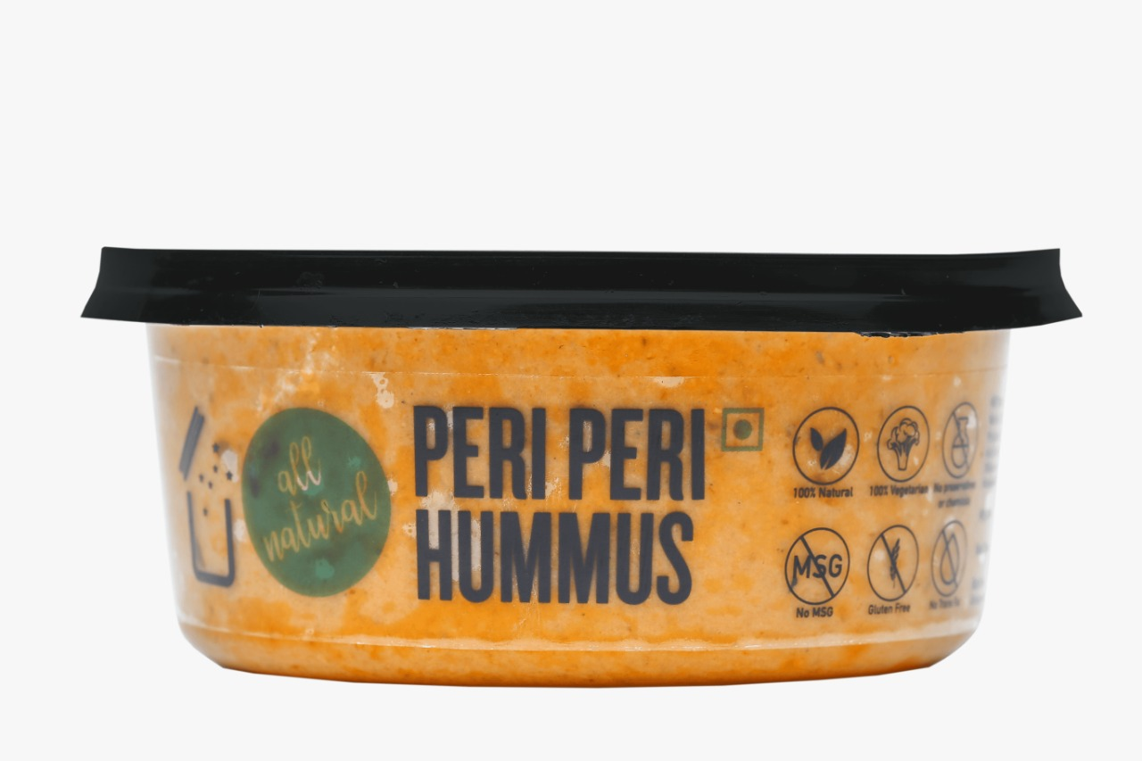 Saucery-Peri Peri hummus