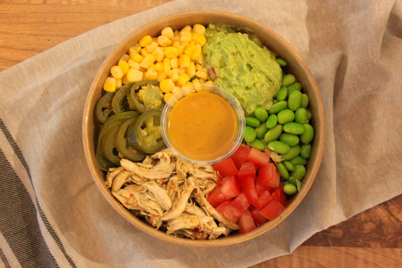Protein Rich Tex-Mex Salad