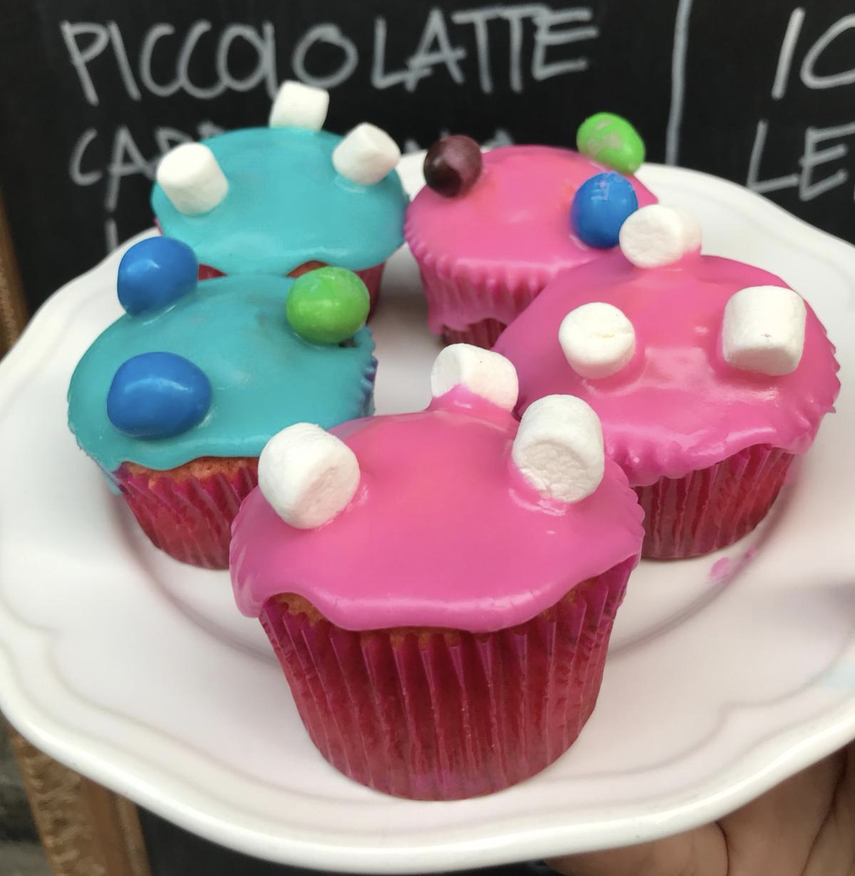 Candy Cupcakes (Box of 6)