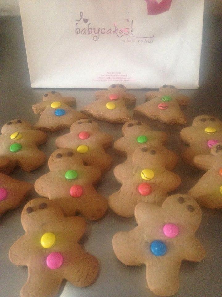 Gingerbread Man (Box of 6 pcs)