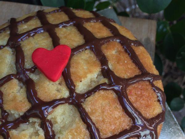 Lemon & Chocolate Chip Cake