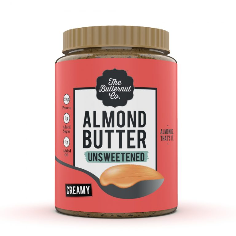 The Butternut Co - Usnweetened Almond Butter Creamy 200g