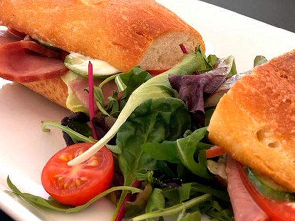 Croissant with Turkey Ham