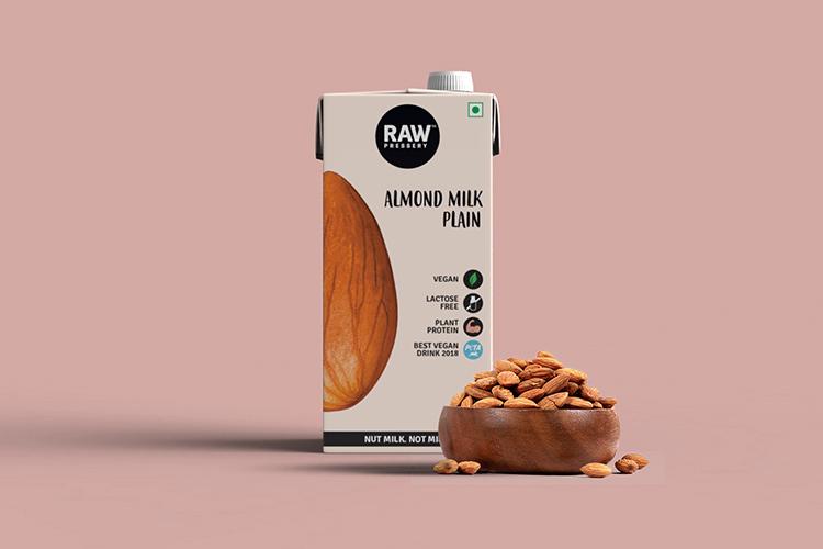 Raw Pressery-Almond Milk Plain (1000ml)