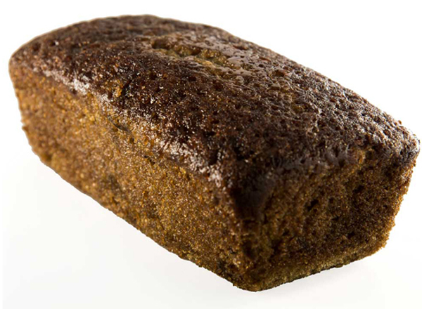 Banana Bread - two hundered gram 100% Wholewheat (Contains Egg)