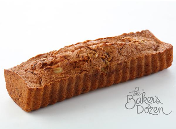Carrot Walnut Cake - three hundered gram 100% Wholewheat (Contains Egg)