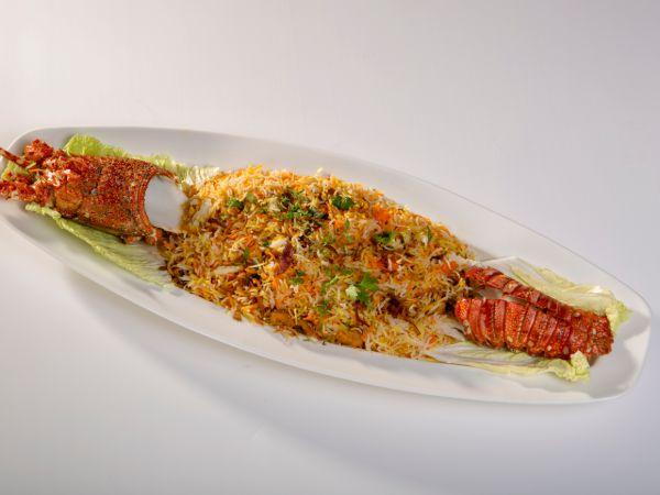 Lobster Biryani