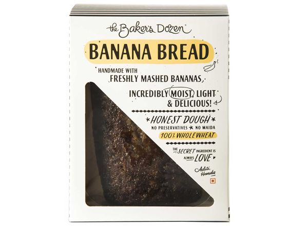 Banana Bread - 200 g 100% Wholewheat