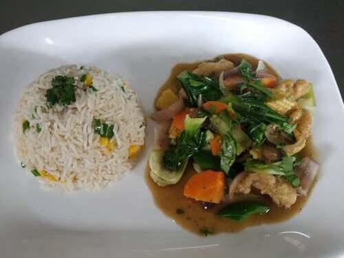 Pineapple Tofu & Fried Rice