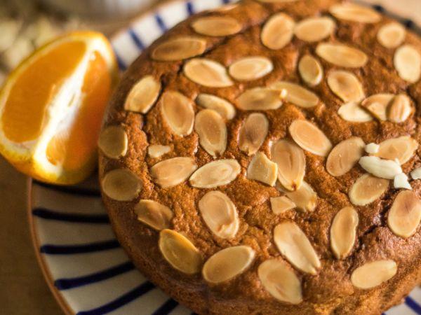 Gluten-Free Almond Cake Plain (1/2 kg)