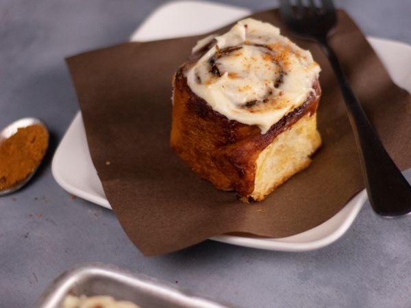 Eggless Cinnamon Buns (Pack of 4)