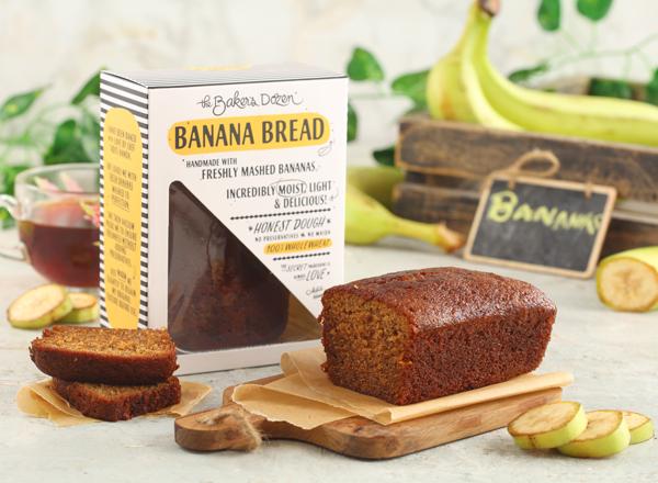 Banana Bread - 200 g 100% Wholewheat small