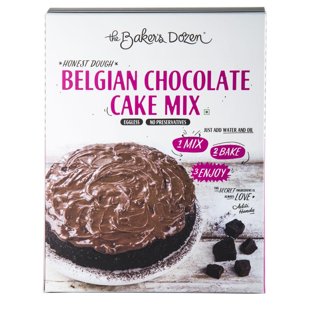 Belgian Chocolate Cake Mix