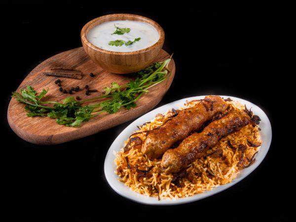 Chicken Kebab Biryani