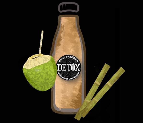 COCO-CANE - (Sugarcane + Tender Coconut)
