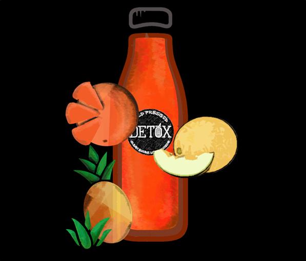ZINGER - (Orange + Pineapple + Muskmelon)