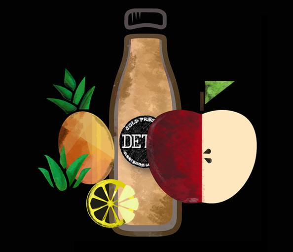 SWEET DETOX - (Apple + Pineapple + Mint + Lemon)
