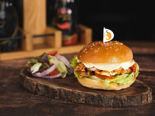 Supremo Chicken Burger Meal