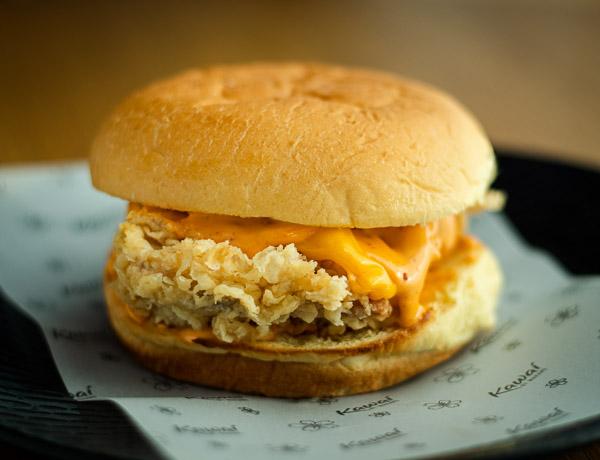 Crispy Cajun Chicken Burger