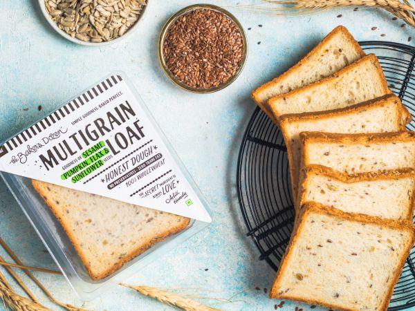 Multigrain Loaf (100% Wholewheat) (230 gms)