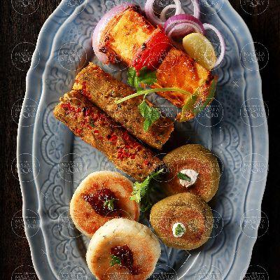 Veg Kebab Platter