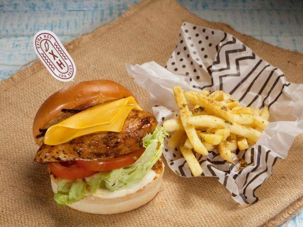 Peri Peri Chicken Burger  Meal