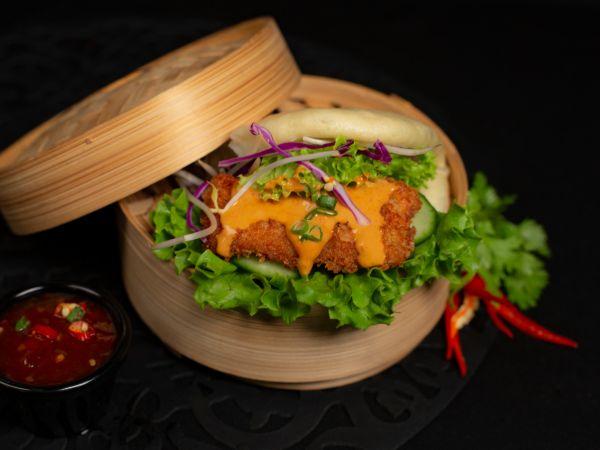 Chicken Katsu Bao