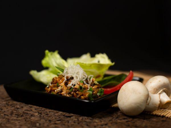 Tofu Fresh Mushroom Wraps