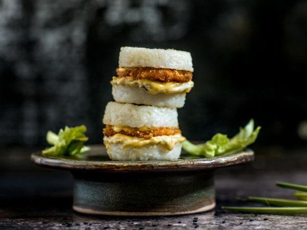 Japanese Chicken Mini Burger