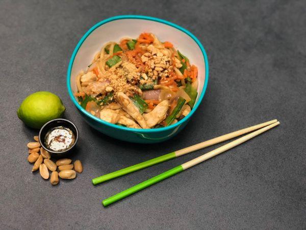 Peanut Satay Chicken