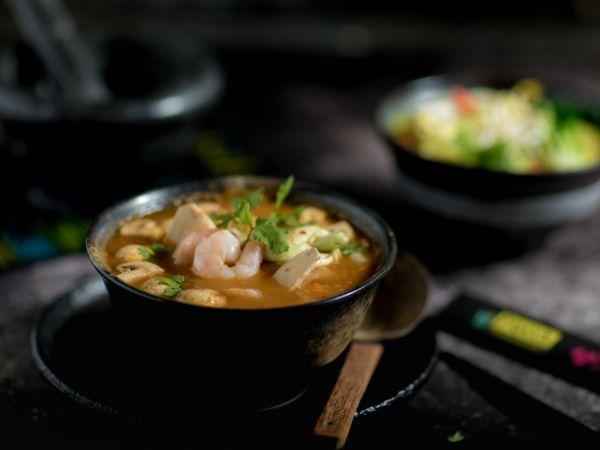 Tom Yum Soup Tofu