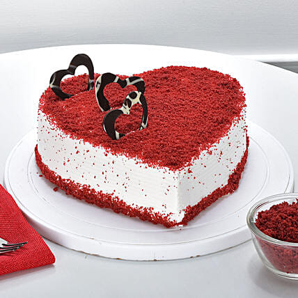 Red Velvet Cheese Cream Cake Design 19