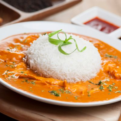 Chicken Curry Sauce [With Rice]