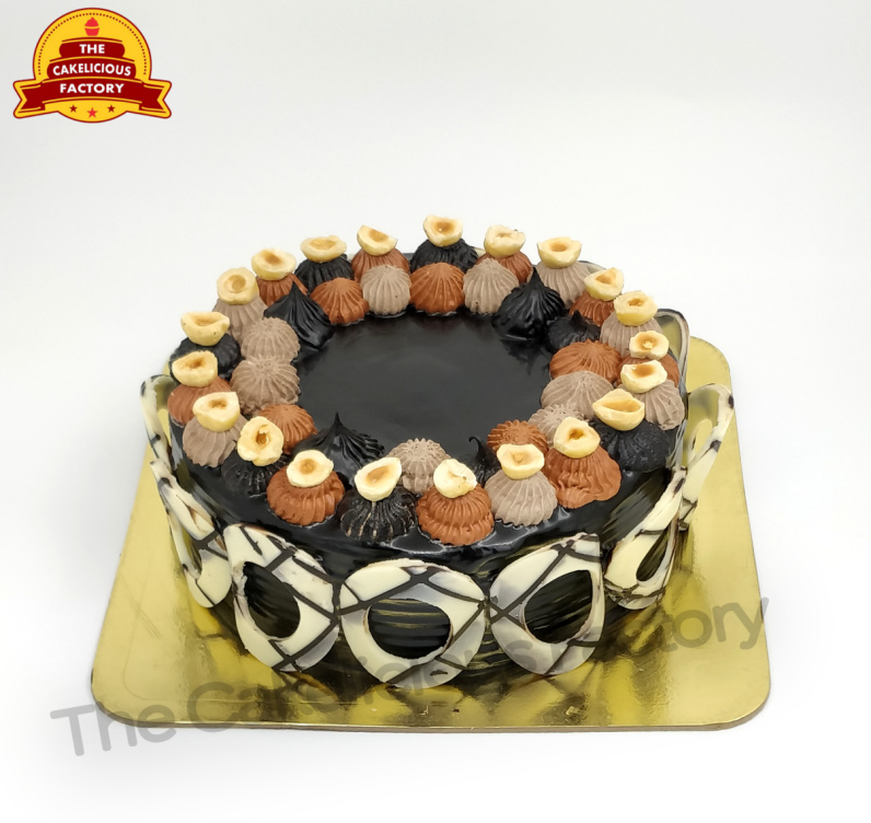 Belgian Chocolate Hazelnut Cake