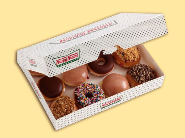 Buy 8 & Get 4 Free All Assorted Doughnuts