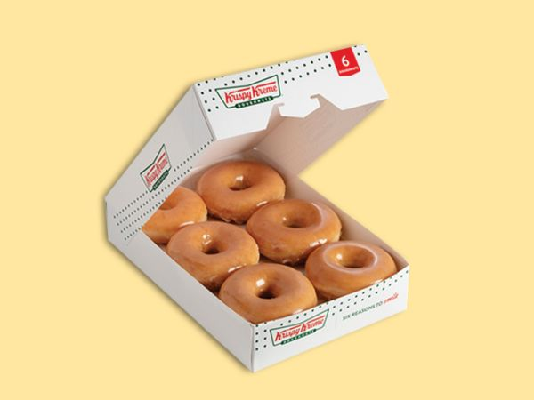 Buy 4 & Get 2 Free Original Glazed