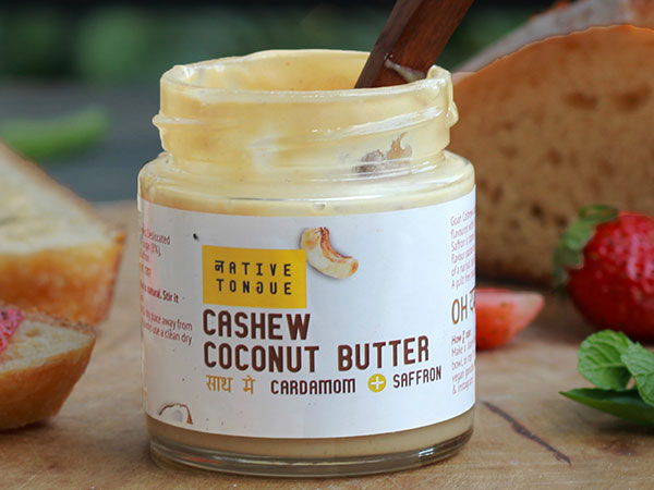 Native Tongue - Cashew Coconut Butter (210gms)