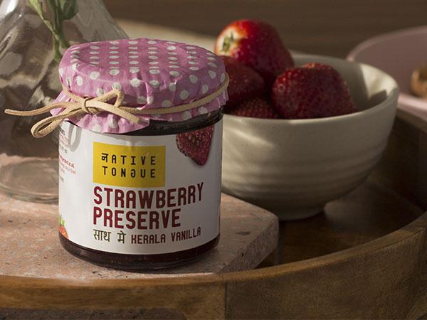Native Tongue  Strawberry Preserve